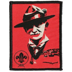 World Scout Baden-Powell Pop Art Fun Badge