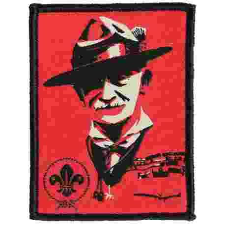 World Scout Baden-Powell Pop Art Fun Badge