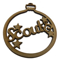 Single Decorate your own Scouts Christmas Bauble