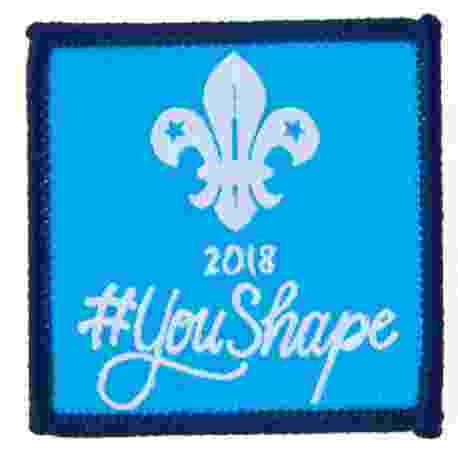 You Shape Explorer Woven Badge
