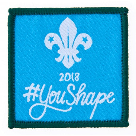 You Shape Cubs Woven Badge 2018