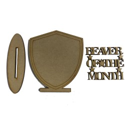 Beaver Of The Month Shield