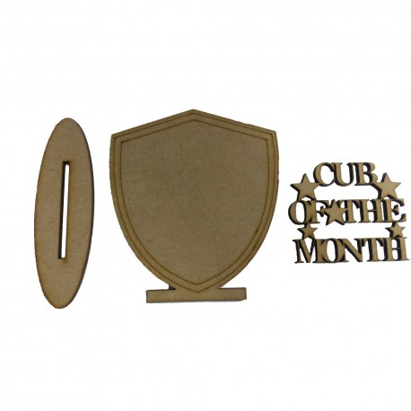 Cub Of The Month Shield