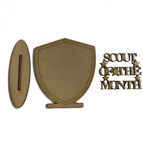 Scout Of The Month Shield
