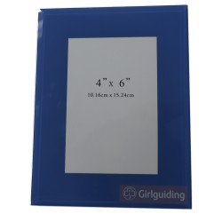 Blue Girlguiding Photo Frame