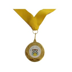 Well Done Brownie Medal