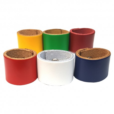 Coloured Leather Woggle