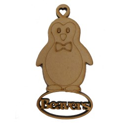 Beaver Penguin Christmas Tree Decoration