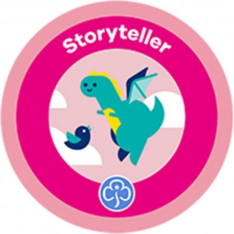 NEW Rainbow Storyteller Interest Badge
