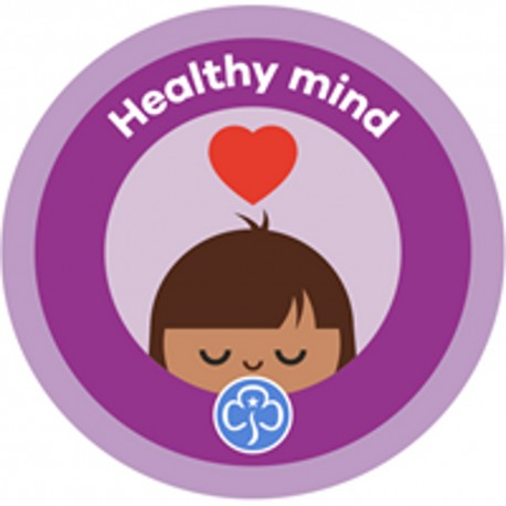 NEW Rainbow Healthy mind Interest Badge