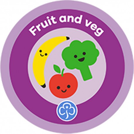NEW Rainbow Fruit and Veg Interest Badge