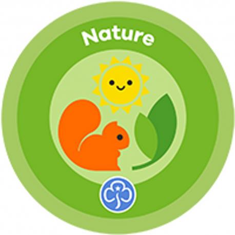 NEW Rainbow Nature Interest Badge