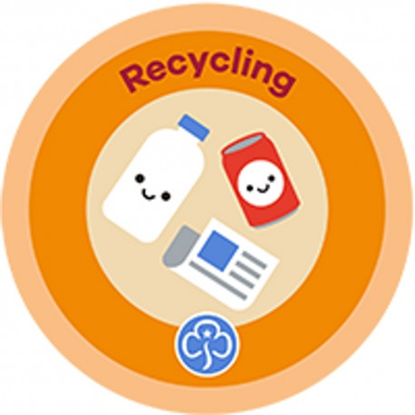 NEW Rainbow Recycling Interest Badge