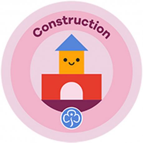 NEW Rainbow Construction Interest Badge