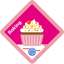 NEW Brownie  Baking Interest Badge