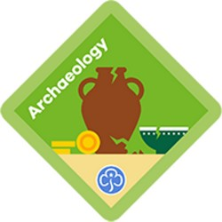 NEW Brownie Archaeology Interest Badge