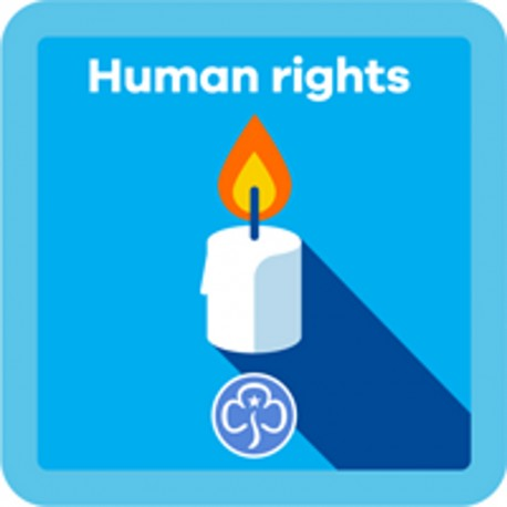 NEW Guide Human Rights Interest Badge