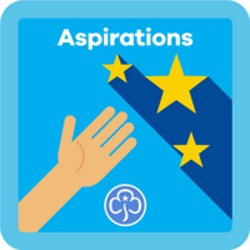 NEW Guide Aspirations Interest Badge