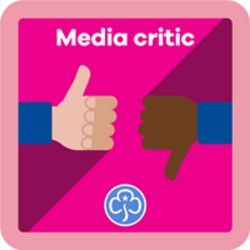 NEW Guide Media Critic Interest Badge