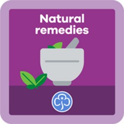 NEW Guide Natural Remedies Interest Badge