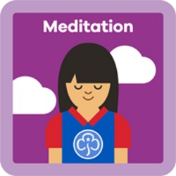 NEW Guide Meditation Interest Badge