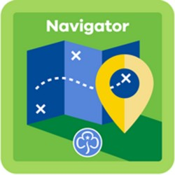 NEW Guide Navigator Interest Badge