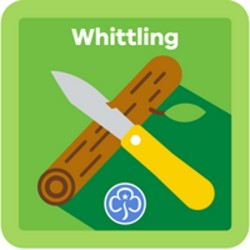 NEW Guide Whittling Interest Badge