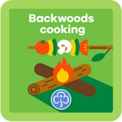 NEW Guide Backwoods Cooking Interest Badge