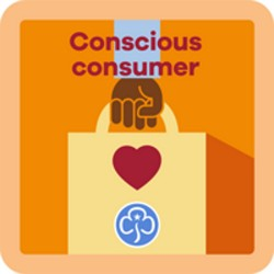 NEW Guide Conscious Consumer Interest Badge