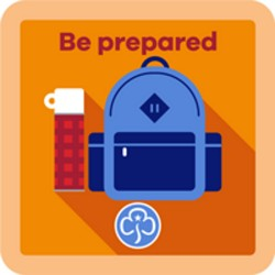 NEW Guide Be Prepared Interest Badge