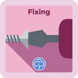 NEW Guide Fixing Interest Badge