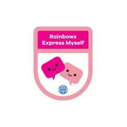 Rainbows Theme Award – Express Myself