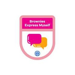 Brownies Theme Award – Express Myself