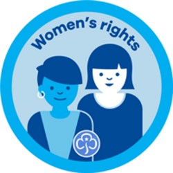 Rangers Interest Badge Women's Rights
