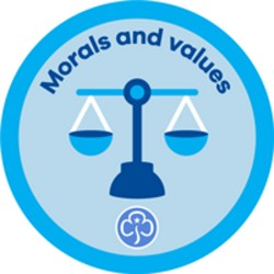 Rangers Interest Badge Morals and Values