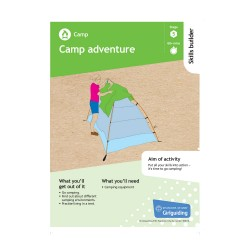 Skills builder resource - Have Adventures - Camp - Stage 5
