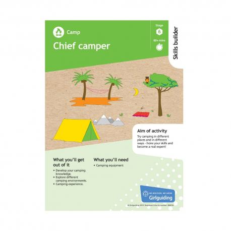 Skills builder resource - Have Adventures - Camp - Stage 6