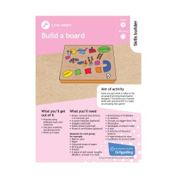 Skills builder resource - Skill For My Future - Live smart - Stage 4