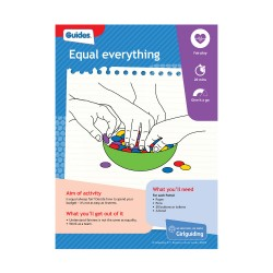 Unit meeting activity cards 3 - Guides