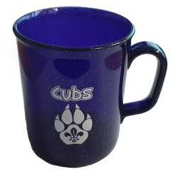 Cub Sparkle Plastic Mug - PURPLE