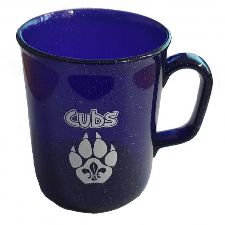 Cub Sparkle Plastic Mug - PURPLE