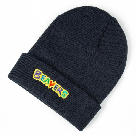 Beavers Knitted Beanie Hat