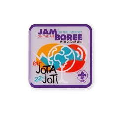 JOTA-JOTI Pin Badge 2018