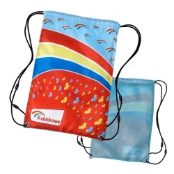 Rainbows mesh sling bag