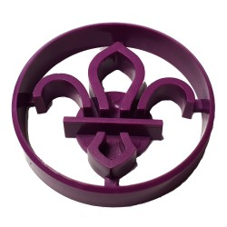 Fleur de Lis Small Cookie Cutter/Stamp