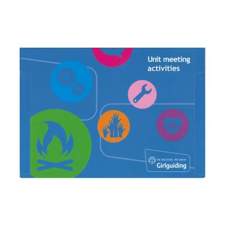 Unit meeting activity cards folder