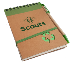 Scouting Hardback Notebook and Pen - SMALL