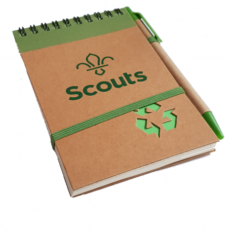 Scouting Notebook and Pen - SMALL