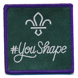 You Shape Scouts Badge
