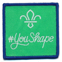 You Shape Cub Badge